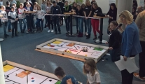 Anspannung im Robot Game